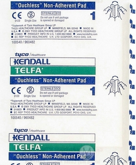 """Kendall Telfa Non-Adherent Sterile Pads (3""""x4"""") (Box of 100)"""