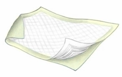 "Kendall Yellow Bed Pads (23""x36"") (Pack of 24)"