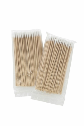 Kenorex Non-Sterile 6in Cotton-Tipped Applicators (Box of 1,000) (10 bags of 100)