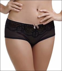 Le Mystere Isabella All Over Lace Boyshort Panty, Style 6435
