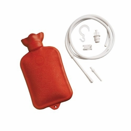 Mabis Healthcare Douche and Enema System with Water Bottle