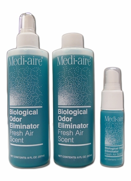 Medi-aire Biological Odor Eliminator REFILL (8 oz.)