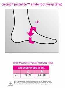 Medi CircAid Juxta-Lite Ankle-Foot Wrap