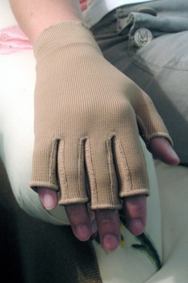 Mediven 550 Glove with Compressive Fingers (Class Two (30-40 mmHg)