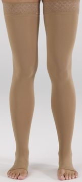 Mediven Comfort Thigh High with Lace Silicone Top Band (30-40 mmHg)