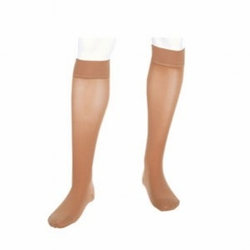 Mediven Plus Extra Wide Knee High Petite with Silicone Top Band (30-40 mmHg)