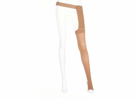 Mediven Plus Thigh High Petite with Waist Attachment for the Left Leg (20-30 mmHg)