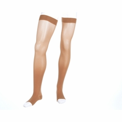 Mediven Plus Thigh High with Silicone Beaded Top Band (30-40 mmHg)