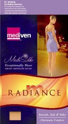 Mediven Radiance Thigh High with Lace Silicone Top Band (30-40 mmHg) - CLEARANCE