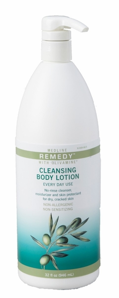 Medline Remedy Cleansing Body Lotion  (32 oz.)