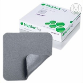 "Mepilex Ag Silver Dressing (4""x4"") (by the Each)"