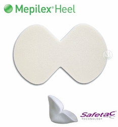 Mepilex Heel Ag Silicone Foam Heel Dressing Home Page