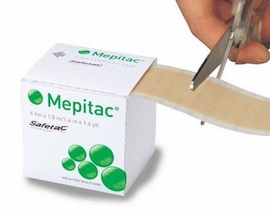 """Mepitac Silicone Tape #298400 (1.6""""x1.6 yds.) (by the Each)"""