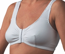 Nearly Me Cotton Front-Closure Leisure Pocketed Bra #500