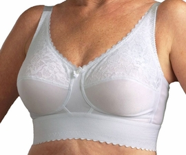 Nearly Me Lace Wide Band Pocketed Bra #610