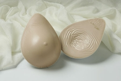 Nearly Me Lites Tapered Oval Lightweight Silicone Symmetrical Breast Form #775