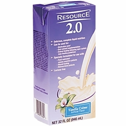 Nestle Resource 2.0 (32 oz. Brik Packs) (Case of 12)