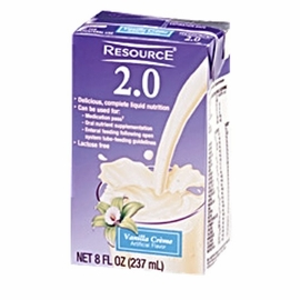 Nestle Resource 2.0  (8 oz. Brik Packs) (Case of 27)