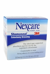 """Nexcare Stomaseal Colostomy Dressing (4""""x4"""") (by the Case)"""