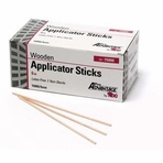 Non-Sterile Wood Shaft Cotton-Tipped Applicators (Box of 1000)