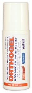 Orthogel Pain Relief (3 oz. Roll On Applicator)