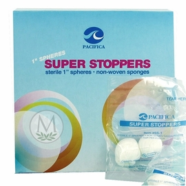 Pacifica Super Stoppers Sterile Sponge Balls (Box of 100)