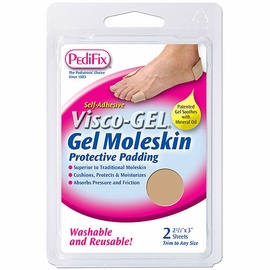Pedifix Visco-Gel Moleskin Protective Padding (2 Sheets)