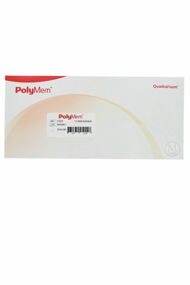 "PolyMem Non-Adhesive Pad Dressings (4""x12.5"") (by the Each)"