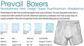 Prevail Boxers for Men, by the Case