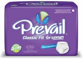 Prevail Classic Fit for Women (by the Case)