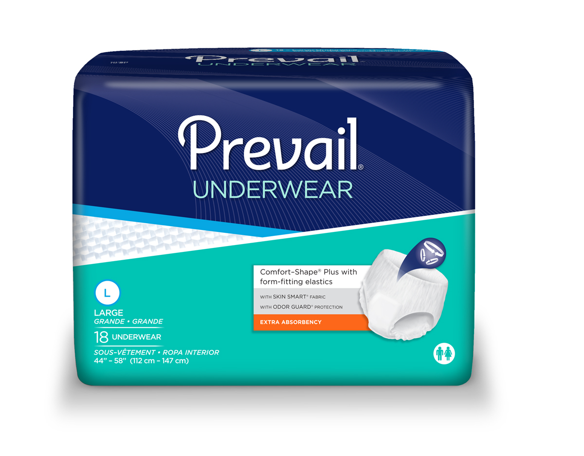 Prevail Extra Pull-Up Underwear Home Page
