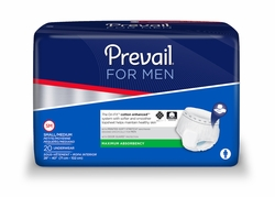 Prevail for Men Pull-Up Underwear Home Page