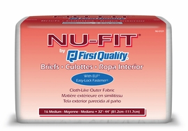 Prevail Nu-Fit Adult Diapers (Size Medium (Bag of 16)