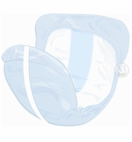 Prevail Pant Liners - Large Plus Elastic (Case of 6 Bags)