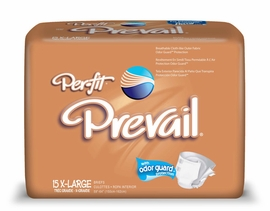 Prevail Per-fit Adults Diapers (Size X-Large) (Bag of 15)