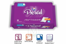 Prevail Premium Washcloths 96ct REFILL Pack (by the Each)