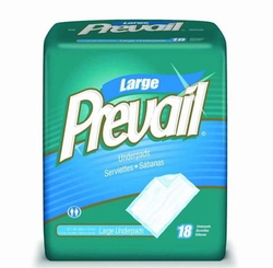 """Prevail Super Absorbent Air Permeable Underpads UP-048 (32""""x36"""") (Case of 48)"""