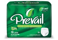 Prevail Super Plus Absorbent Underwear Home Page