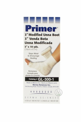 "Primer 3"" Modified Unna Boot (GL-300-1) (by the Each)"