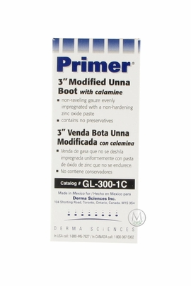 """Primer 3"""" Modified Unna Boot with Calamine (GL-300-1C) (by the Each)"""