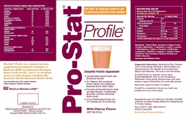 Pro-Stat Profile (Complete Protein Supplement (Case of 4)