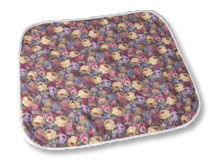 "Salk CareFor Deluxe Floral Underpad (23""x36"")"