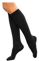 Sigvaris 145 Classic Dress Knee High Socks for Women Closed Toe (15-20mmHg)