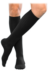 Sigvaris 185 Classic Dress Knee High Sock (Closed Toe (15-20mmHg)