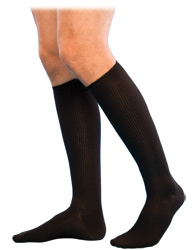 Sigvaris 186 Casual Cotton Knee High Sock (Closed Toe (15-20mmHg)