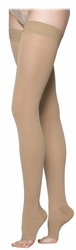 Sigvaris 230 Cotton Thigh High Open Toe (20-30 mmHg)