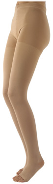 Sigvaris 500 Natural Rubber Pantyhose (Open Toe)  (30-40mmHg)