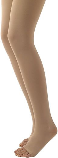 Sigvaris 500 Natural Rubber Thigh High (Open Toe) (30-40mmHg)