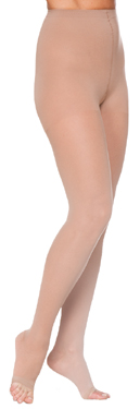 Sigvaris 780 EverSheer Pantyhose Stockings, Open Toe (30-40mmHg)