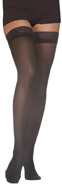 Sigvaris 780 EverSheer Thigh High Stockings with Grip-Top, Closed Toe (20-30mmHg)